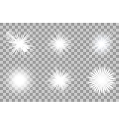 Collection of lights effect vector