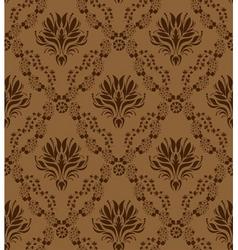 damask pattern vector image