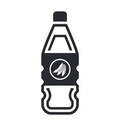 bottle of fruit juice vector image