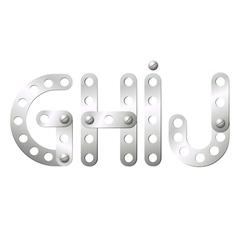 GHIJ vector image