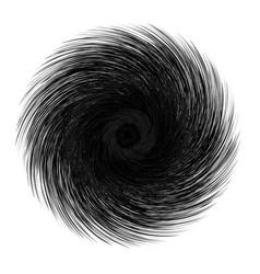 abstract unusual strange shape dark abstract vector image