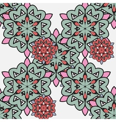 Japanese pattern ornamental styled small red and vector