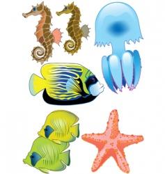 sea world vector image vector image