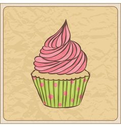 cupcakes07 vector image