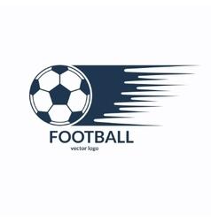 Football or soccer ball symbol vector