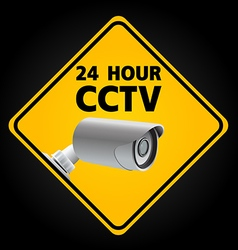 CCTV Security Camera vector image vector image