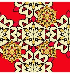 Colorful mandala seamless wallpaper Endless vector image
