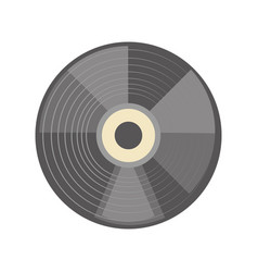 Old music vinyl vector