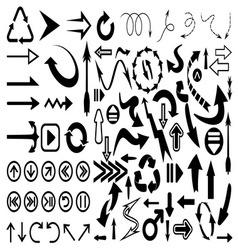 Strelice velika kolekcija resize vector image