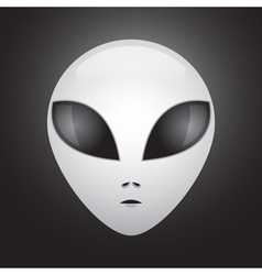Alien face vector