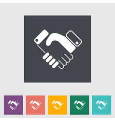 Icon agreement vector