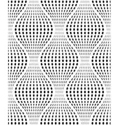 Iridescent texture with oval dots seamless pattern vector