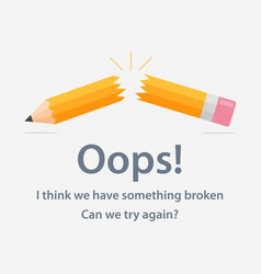 page with 404 error vector image