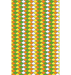 Seamless bright scale pattern vector