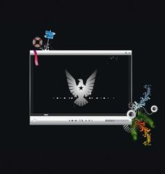 Video screen vector