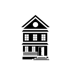 Best country house icon simple style vector