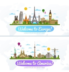 Travel and tourism vector