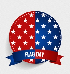 American Flag Day 14 of June Flag Day vector image vector image