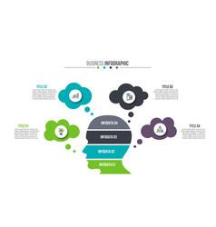 Business data visualization vector