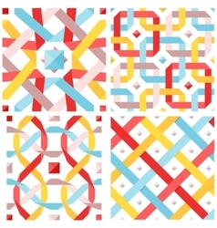 Chic seamless pattern vector