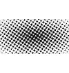 horizontal halftone banner comic manga vector image vector image