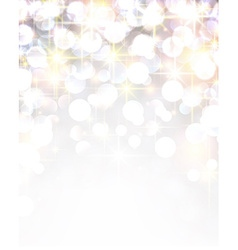 Silver shiny christmas background vector