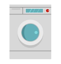 washing machine icon isolated vector image