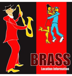 Brass dance vector
