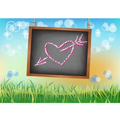 Banner happy valentine s day vector