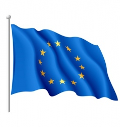 flag of the european union vector image