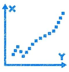 Function plot grainy texture icon vector