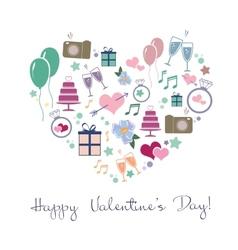 Happy valentines vector