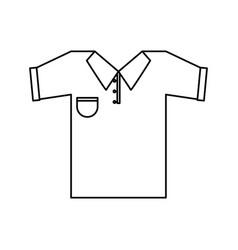 Polo shirt icon image vector