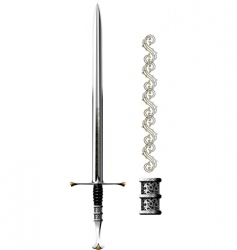 sword shine vector image