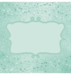 Vintage Hearts Card vector image vector image