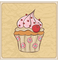 cupcakes09 vector image
