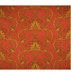 Old vintage victorian wallpaper vector