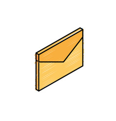 E-mail message to communication with people vector