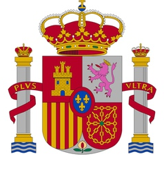 Coat of arms of spain vector
