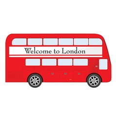 London red bus vector