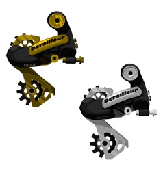 Rear derailleur vector