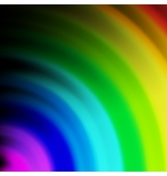 Abstract rainbow colours on a background vector