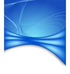 futuristic banner template vector image vector image