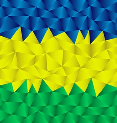 triangular brazil background vector image