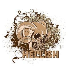 vintage t-shirt design vector image