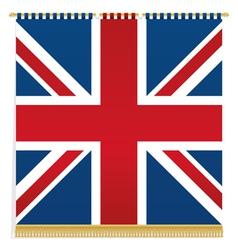 uk wall hanging vector image