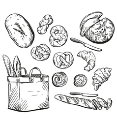 Baking set vector