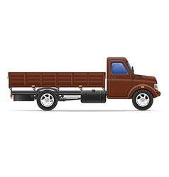cargo truck 01 vector image vector image