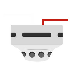 Monitor socket icon isolated vector