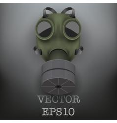Retro gas mask vector